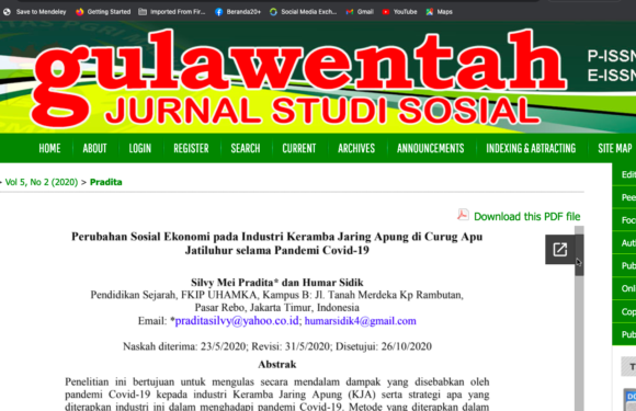 Cara Agar Artikel kita langsung muncul ketika di klik pdf tanpa harus download